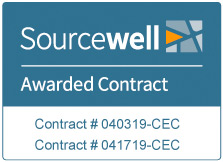 Sourcewell Awarded Contract | Contract # 040319-CEC | Contract # 041719-CEC