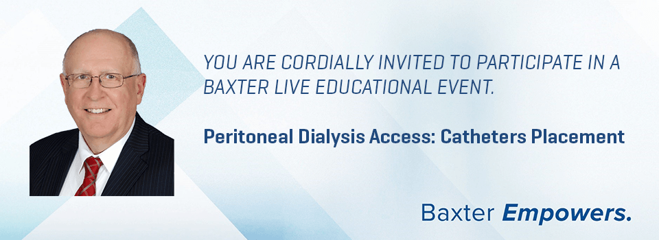 Peritoneal Dialysis Access: Catheters Placement