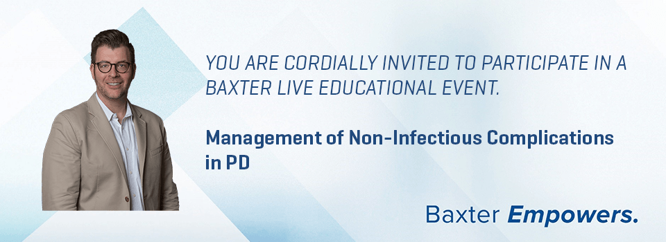 Management of Non-Infectious Complications in PD