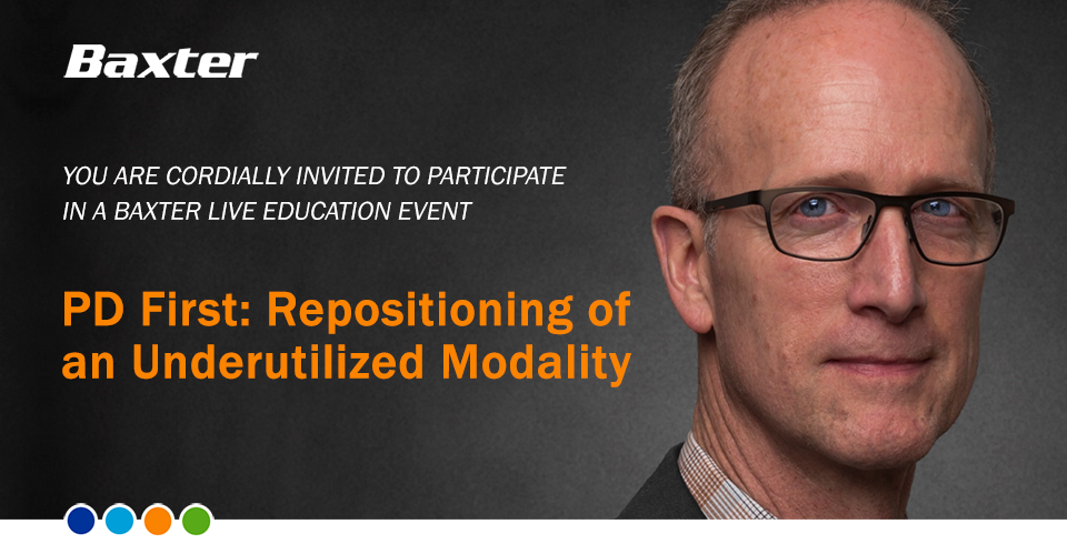 PD First: Repositioning of an Underutilized Modality